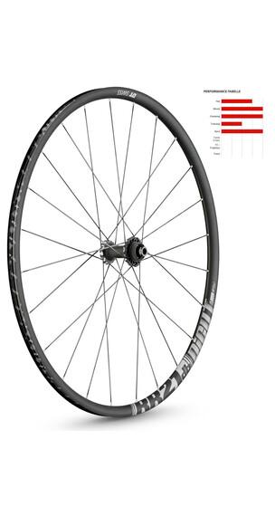 """DT Swiss RR 21 Dicut Disc Brake 28"""" voorwiel aluminium 100/12mm zwart"""